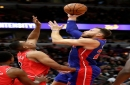 Blake Griffin's big night helps Detroit Pistons withstand Bulls 118-116