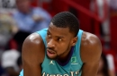 Hornets withstand Heat rally, win 113-112