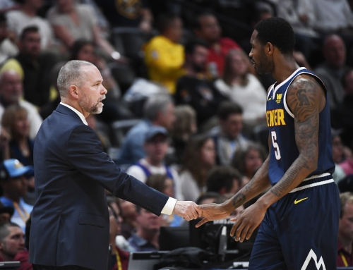 Nuggets' Will Barton carted off after right hip injury vs. Suns