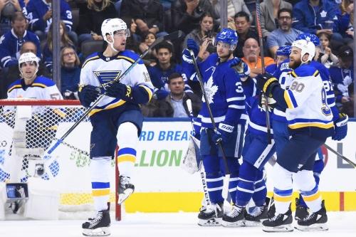 Blues Vs. Leafs Recap