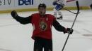Stone's blast in OT lifts Senators over Canadiens