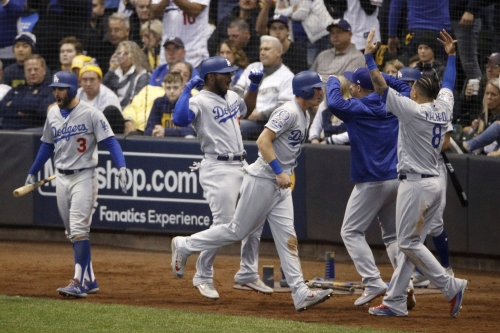 Dodgers beat Brewers in Game 7, win their way back to World Series