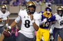 Without Milton, No. 10 UCF beats ECU 37-10 for 20th straight