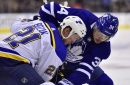 Rosie DiManno: Maple Leafs play generous hosts to Bozak's Blues