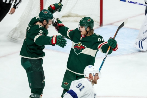 Wild come from behind to earn a 5-4 OT win over the Tampa Bay Lightning