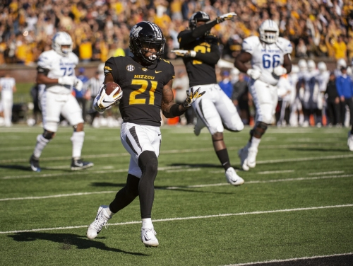 Mizzou offense comes alive in homecoming victory