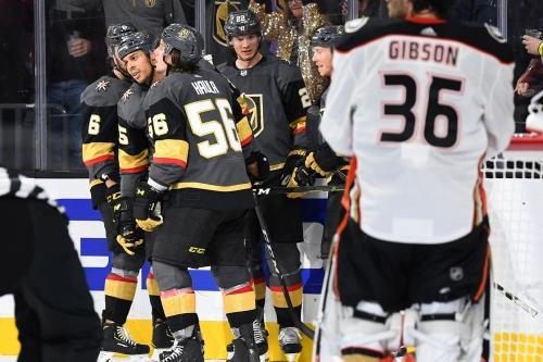 Year 2, Game 8: Golden Knights defeat Ducks 3-1, extend winning streak to three games