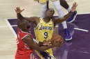 Brawl breaks out between Lakers and Rockets