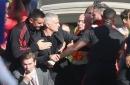 Chelsea get last laugh on Jose Mourinho as Ross Barkley's late equaliser sparks mass brawl