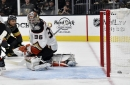 Ducks lean on John Gibson, but he can't stop Golden Knights by himself in loss
