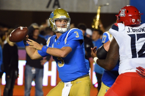 UCLA football turns to backup QB Wilton Speight, wins second straight