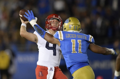 RhettRod-led Arizona Wildcats come up one point short at UCLA