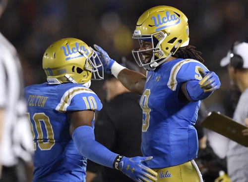 UCLA game GIFs: Fans react to UCLA's 31-30 win over Arizona
