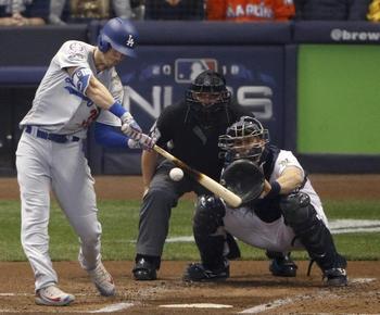 Cody Bellinger wins NLCS MVP award for Dodgers