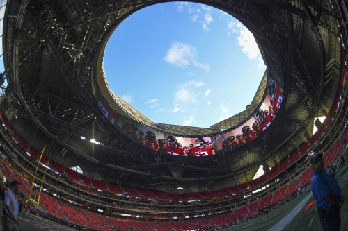 Mercedes-Benz Stadium will look to open roof for 2nd consecutive Falcons game