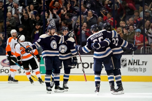 Blue Jackets Through the Years
