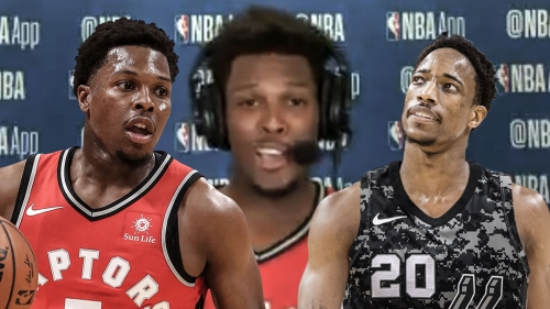 Kyle Lowry explains why he still does old pre-game handshake with DeMar DeRozan