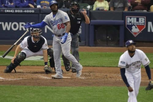 Dodgers News: Andrew Friedman Jokes About Yasiel Puig's Home Run Off Brewers' Jeremy Jeffress Possibly Being 'Lucky'