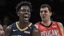 Pelicans' Jrue Holiday giving Nikola Mirotic a bottle of wine every time he scores 30 points