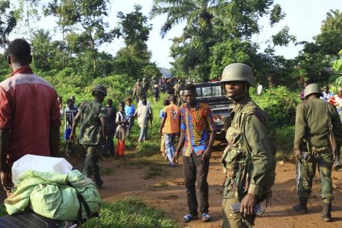 Deadly rebel attack in center of Ebola outbreak stalls work