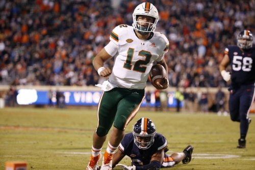 Canes open as underdog at Boston College
