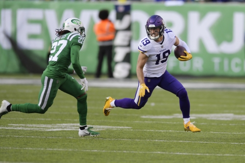 Kirk Cousins, record-tying Adam Thielen lead Vikings to 37-17 win over Jets