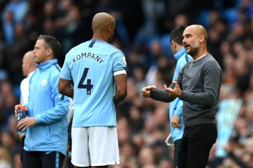 Vincent Kompany reveals the tactical change Man City have worked on in training