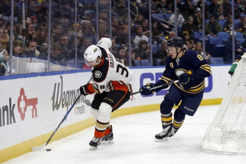 Game Thread: Sabres at Ducks, Game 9