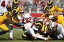 49ers notes: Breida mulls resting ankle; receivers rarely spotted
