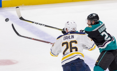 Ducks suffer familiar breakdowns in come-from-ahead loss to Sabres