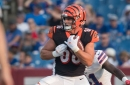 Bengals TE Mason Schreck gets carted off during Sunday Night Football as injury gets added to insult