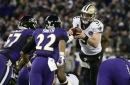 Best Photos From New Orleans Saints 24-23 Win Over The Baltimore Ravens