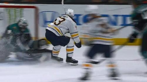 Skinner picks up goal no.5, brings Sabres level against Ducks