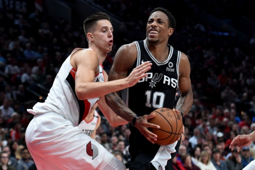 DeMar DeRozan is off to a historical start with the Spurs