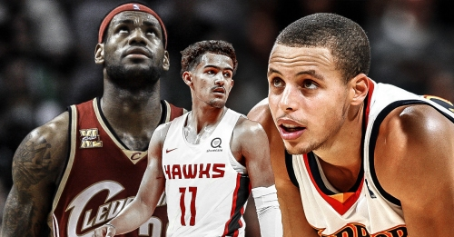 Trae Young joins LeBron James, Stephen Curry with 35-10 rookie feat