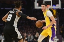 Game Preview: San Antonio Spurs at Los Angeles Lakers