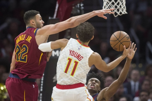 Trae Young announces NBA arrival in first Hawks win of season