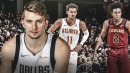Mavs' Luka Doncic reacts to Trae Young's huge night in Hawks' win over Cavs