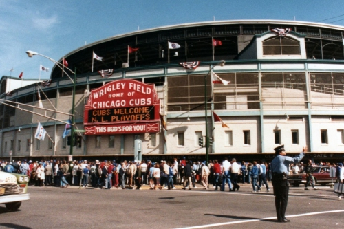 At last, here's definitive proof that the Cubs did not lose a home date in the 1984 NLCS