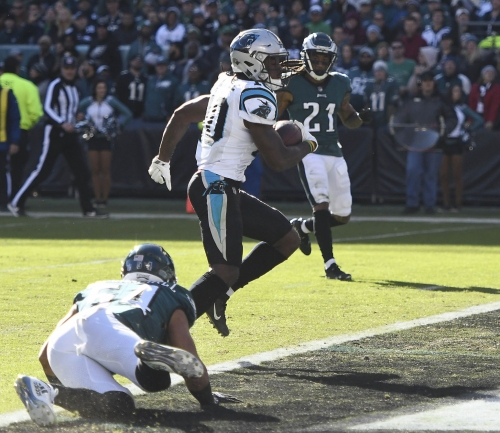 Asked about pregame altercation with Eagles 'sellout,' Panthers' Eric Reid doesn't mince words