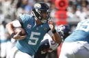 "Bortles on ""glorified 1-year deal""?"