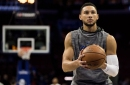 Ben Simmons questionable for tomorrow's game vs. Detroit Pistons