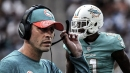 Dolphins news: DeVante Parker's agent blasts Adam Gase for handling of his client