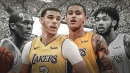 Lakers' Lonzo Ball, Kyle Kuzma to fill in for Rajon Rondo, Brandon Ingram amid suspensions