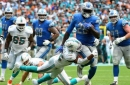 Dolphins' run defense cause for concern after giving up 248 rushing yards to Detroit