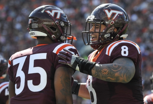 Virginia Tech ready to lean on Ricky Walker with Georgia Tech's triple-option coming to town