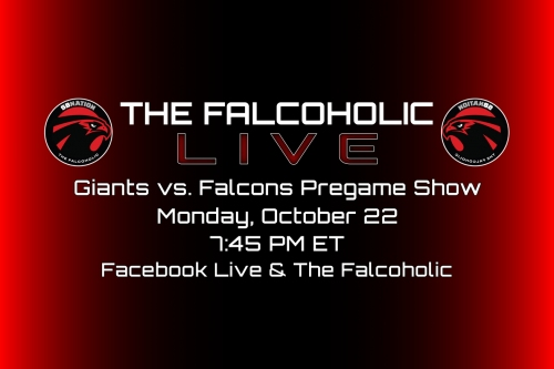 The Falcoholic Live's Giants vs. Falcons Pregame Show