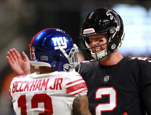 Photos: Early look at Falcons-Giants on Monday Night Football