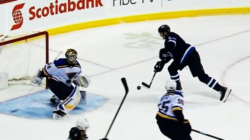 Trouba scores overtime winner, lifts Jets to win over Blues