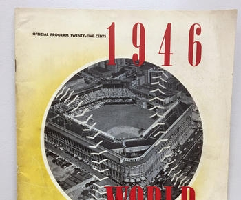 Red Sox-Dodgers in '46 World Series? Not part of the program